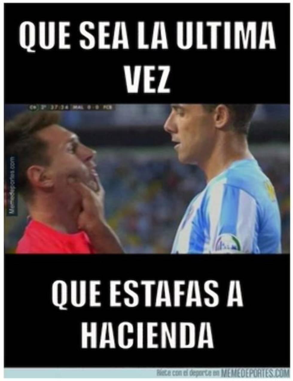 'Memes' se burla de la condena a prisión de Messi