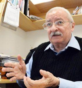 Benjamín Ruiz Loyola, académico de la FQ de la UNAM.