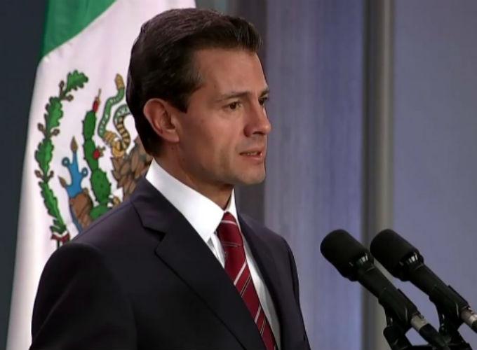 Piden a líderes republicanos y demócratas de EUA invitar a Peña Nieto al Congreso