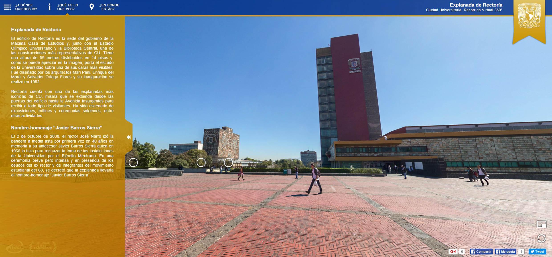 La UNAM en 360 grados