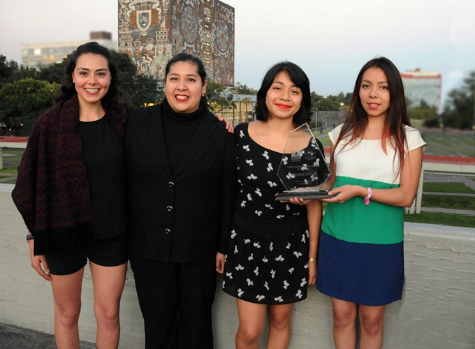 Alumnas de la UNAM ganan certamen internacional sobre DDHH