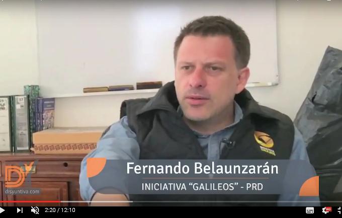 Entrevista: Fernando Belaunzarán (2da parte) Iniciativa Galileos.