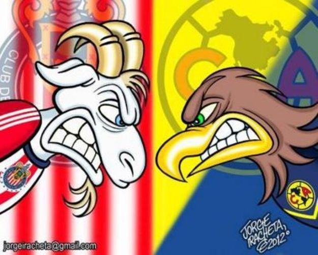 América vs Chivas, un partido 'distinto'.