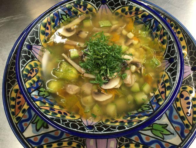 Las delicias del Chef: Sopa de Milpa.