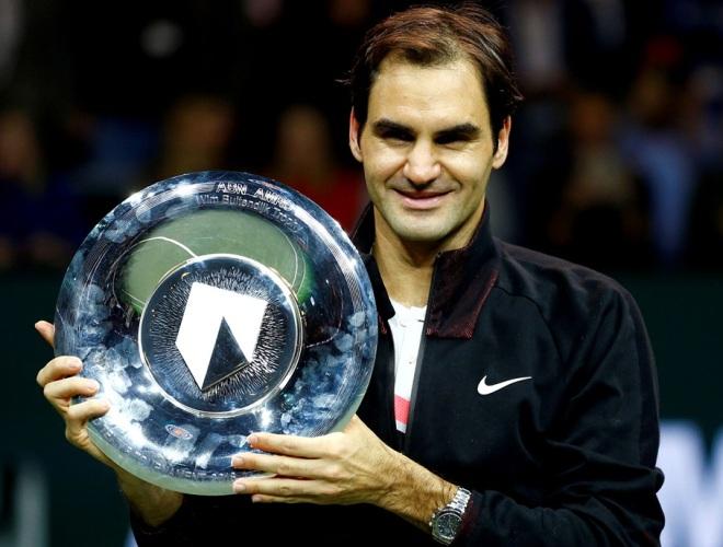 Federer… Su majestad.