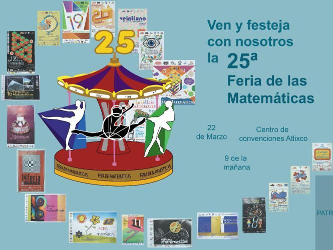 Ciencia: 25 Feria de Matemáticas.