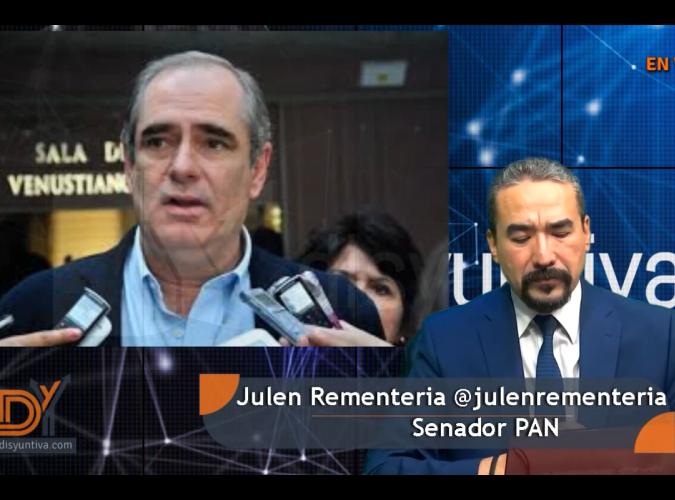 Entrevista: Sen. Julen Rementería y los retos en el Senado.